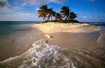 Sandy Island Caribbean 1600 x 1200 340x220