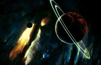 Saturn Destruction Planets 1200 x 900 340x220