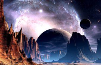 Sci Fi Science Fiction Planets Alien Sky 1920 x 1200 340x220