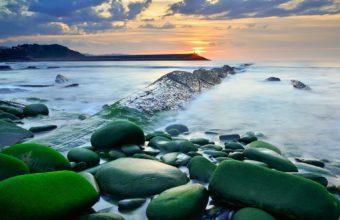 Sea AeYaeY Sky Rocks Water Exposure 2000 x 1205 340x220