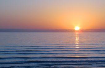 Sea Sun Sunset 2560 x 1600 340x220