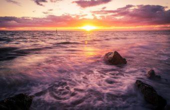 Sea Surf Sunset 1440 x 900 340x220