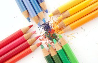Sharped Color Pencils 1920 x 1200 340x220