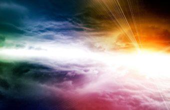 Sky Sun Colorful 1440 x 900 340x220