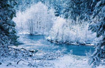 Snow River 1680 X 1050 340x220