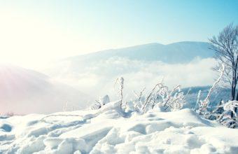 Snow Winter Mountains 2560 X 1600 340x220