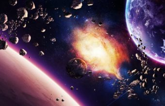 Space Planet Explosion 2560 X 1600 340x220
