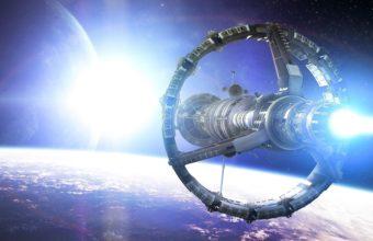 Space Planet Ship 4207 x 2200 340x220