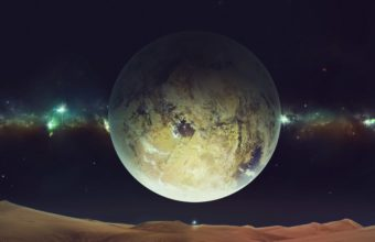 Space Planet Sky 4800 x 2700 340x220