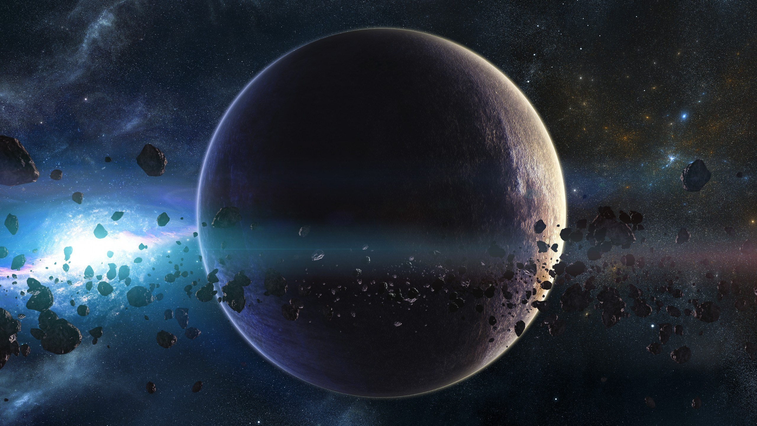Space planets asteroids 2560 x 1440 - Space 2560 x 1440 ...