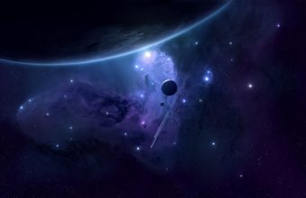 Space Planets Satellites 2560 x 1600 340x220