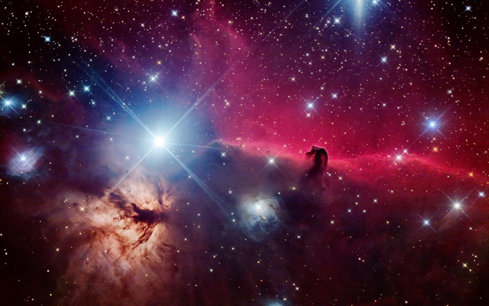 Space Stars Beautiful Nebula Horsehead