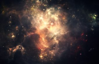 Space Stars Sky 2560 x 1600 340x220
