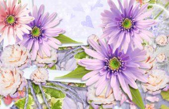Spring Floral Display 1920 x 1080 340x220