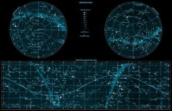 Stars Space Sky Map 2729 x 1769 340x220