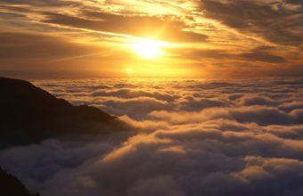 Sun Above The Clouds 1920 x 1200 340x220