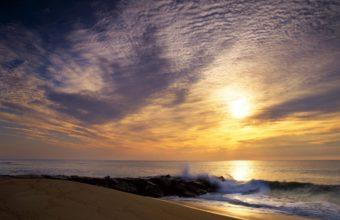 Sun Sky Clouds 1280 x 1024 340x220