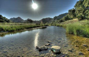 Sun Sky Light River 1680 X 1050 340x220