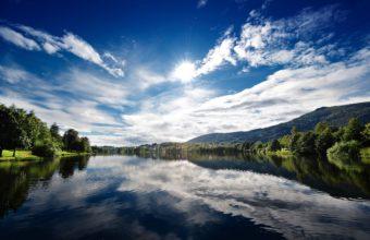Sunny Lake 2560 x 1600 340x220