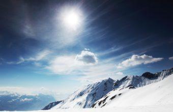 Sunny Snowy Mountains 2560 X 1600 340x220