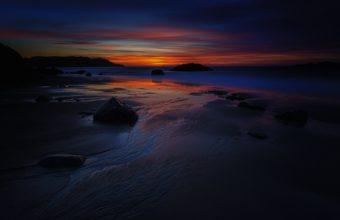 Sunset At Beach 1920 x 1280 340x220