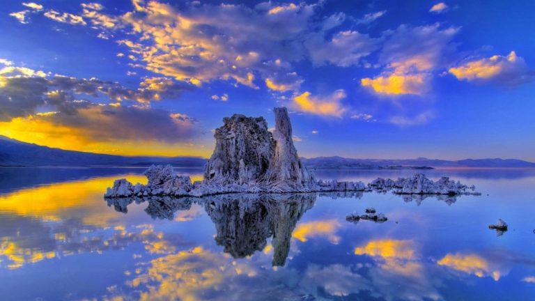 Sunset Clouds Landscapes Nature 1920 x 1080 768x432