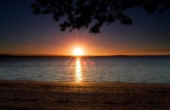 Sunset Landscapes Nature 2560 x 1600 340x220