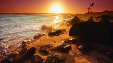 Sunset Landscapes Nature Beach 2560 x 1440 380x214