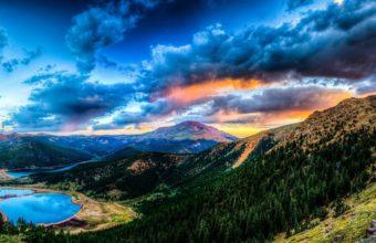 Sunset Mountain Lake 1440 x 796 340x220