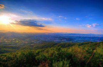 Sunset Nature Sky 1920 x 1080 340x220