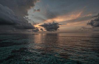 Sunset Sea Sky Ol Landscape 2560 x 1600 340x220