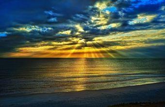 Sunset Seas 2560 x 1600 340x220