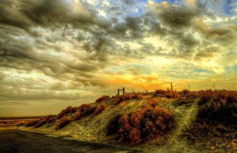 Sunset Sky Landscape 1920 x 1200 340x220