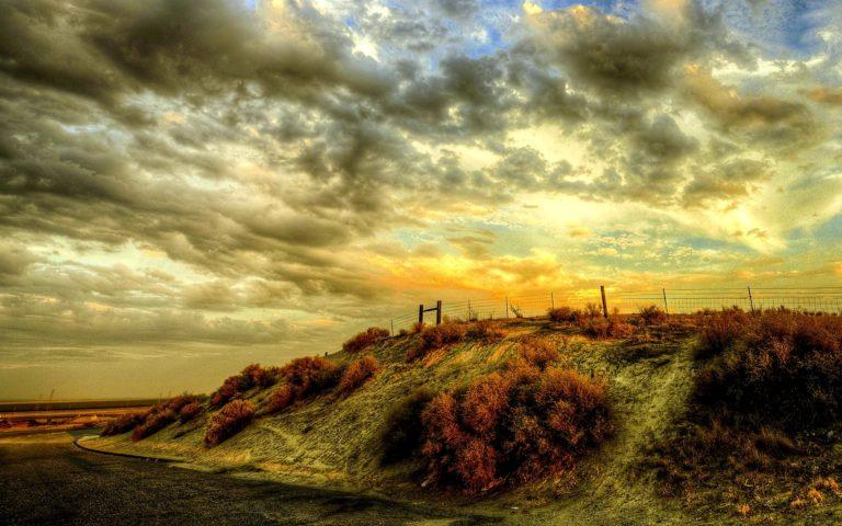 Sunset Sky Landscape 1920 x 1200 768x480