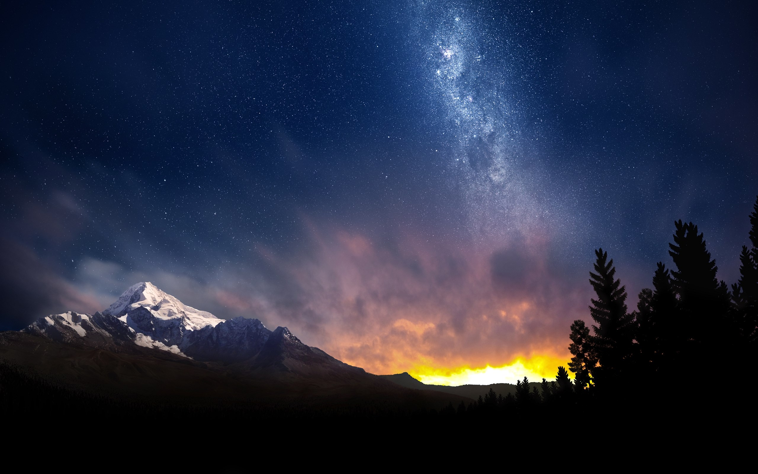 Горы небо звезды без смс