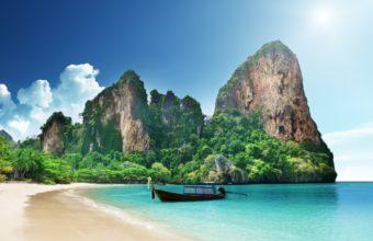 Thailand Sea Ocean 2560 x 1600 340x220