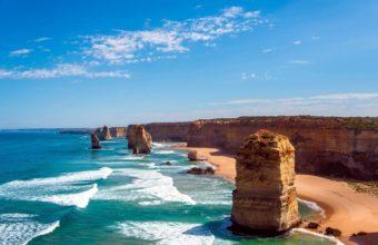 Twelves Apostles Australia Ocean 1680 x 1050 340x220