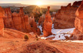 Utah Mountains Rocks Landscape 2560 x 1600 340x220