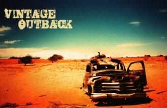Vintage Old Deserts Outback 3840 x 2400 340x220
