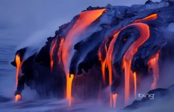Water Nature Volcanoes Lava Magma 1920 x 1200 340x220