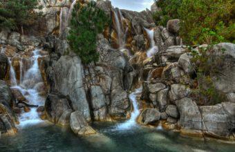 Waterfall Rocks River 1440 x 900 340x220