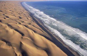 Waves Deserts Africa Dunes Namib 1920 x 1080 340x220