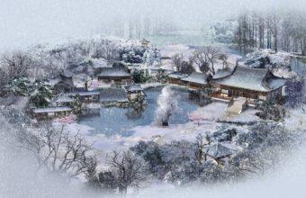 Winter Lodges China 1920 x 1200 340x220