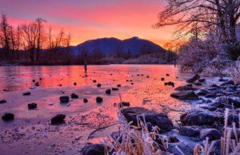 Winter Stones Sunset 1920 x 1200 340x220