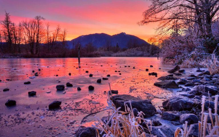 Winter Stones Sunset 1920 x 1200 768x480