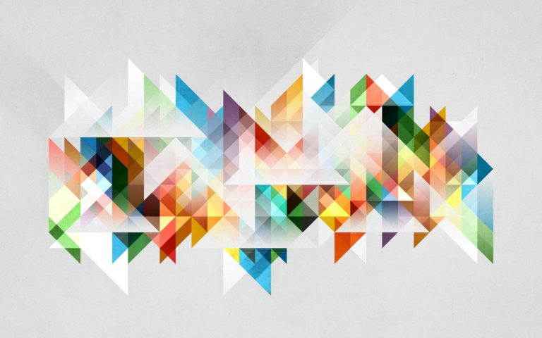 Abstraction Geometry Shapes 2560 x 1600 768x480