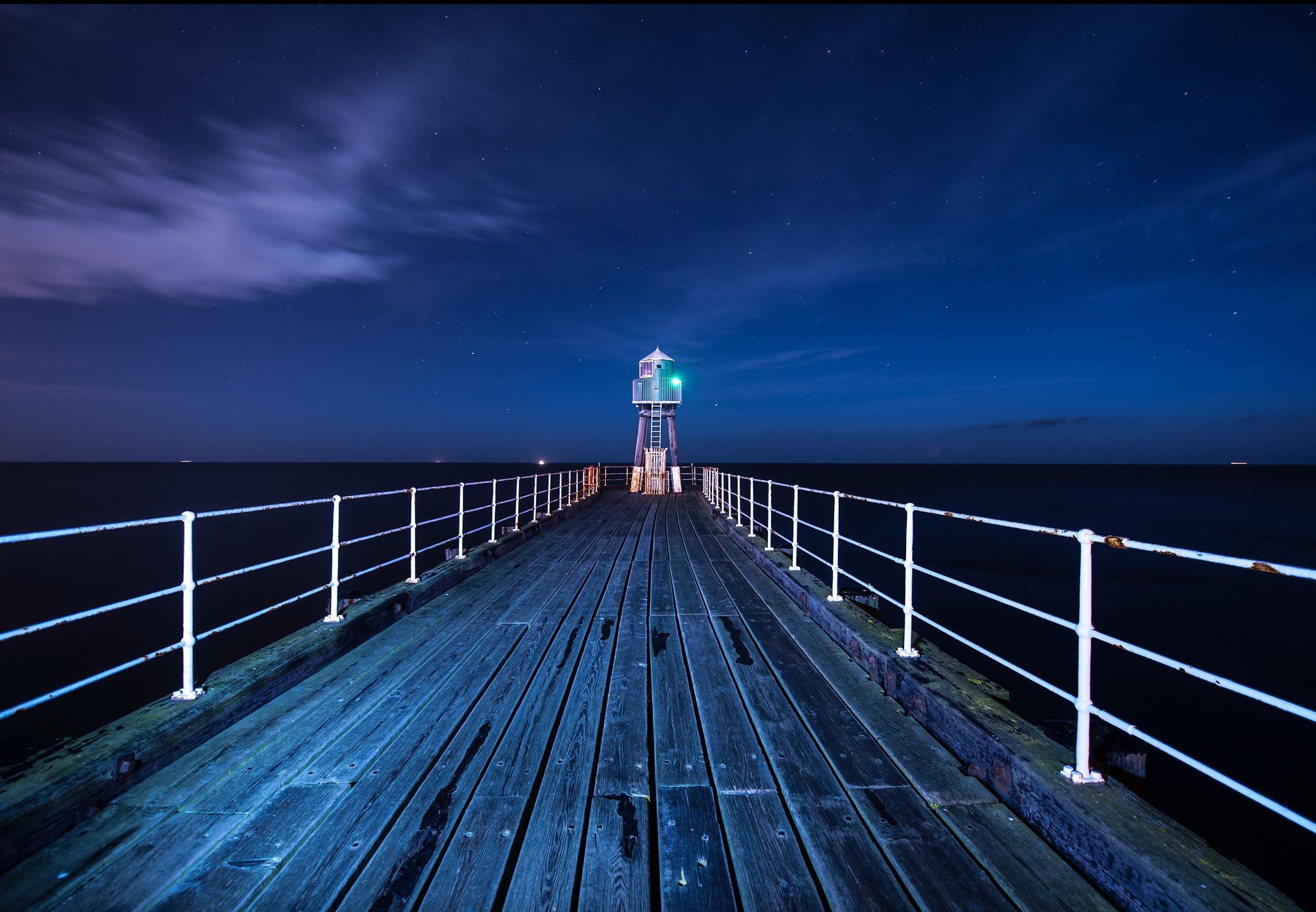 lighthouse at night - HD1920×1200
