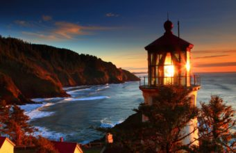 Amazing Lighthouse Wallpaper 24 1366x768 340x220