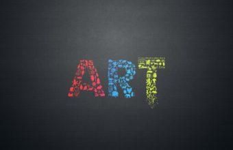 Art Letters Creative Minimalsim 3840x2160 340x220