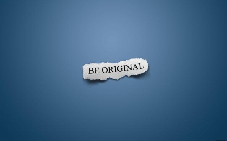 Be Original Widescreen 1920 x 1200 768x480